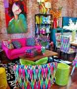 80+ Awesome Colorful Living Room Decor Ideas And Remodel for Summer Project (68)