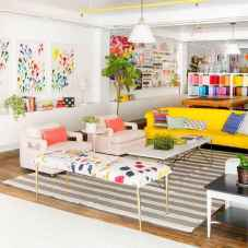 80+ Awesome Colorful Living Room Decor Ideas And Remodel for Summer Project (8)