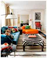 80+ Awesome Colorful Living Room Decor Ideas And Remodel for Summer Project (80)