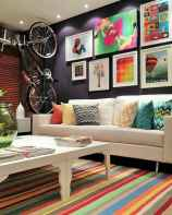 80+ Awesome Colorful Living Room Decor Ideas And Remodel for Summer Project (83)