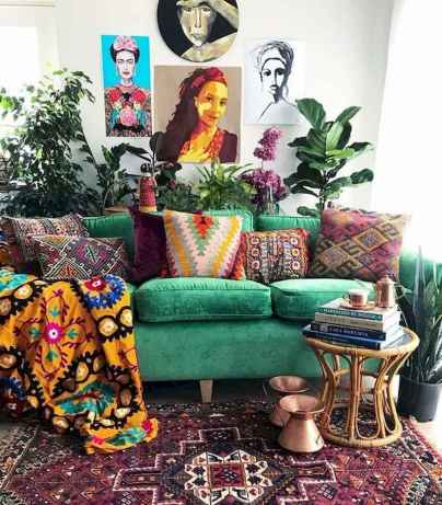 80+ Awesome Colorful Living Room Decor Ideas And Remodel for Summer Project (9)