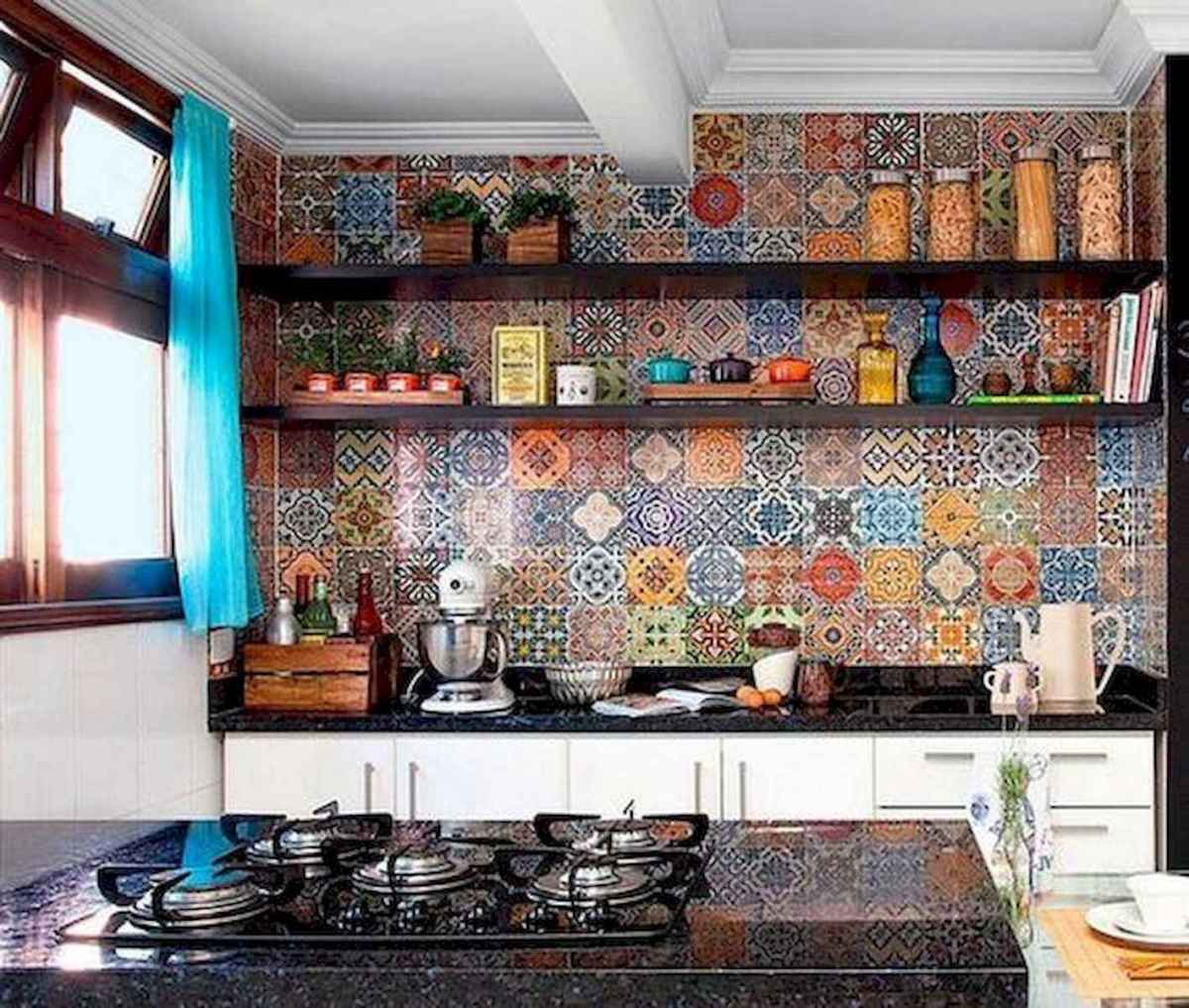 80+ Fantastic Colorful Kitchen Decor Ideas And Remodel for Summer Project (13)
