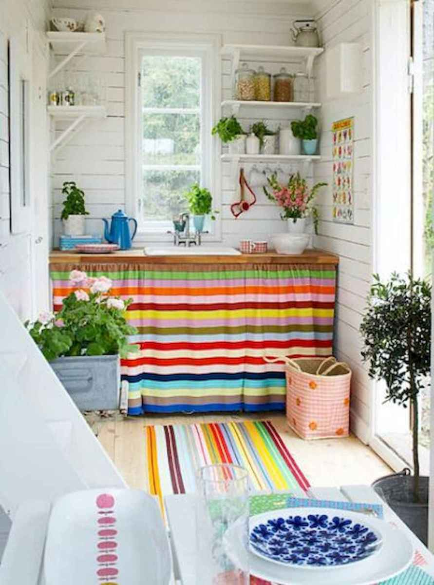 80+ Fantastic Colorful Kitchen Decor Ideas And Remodel for Summer Project (15)