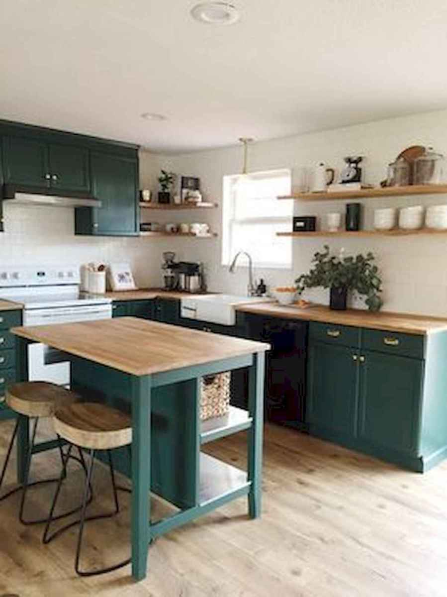 80+ Fantastic Colorful Kitchen Decor Ideas And Remodel for Summer Project (19)