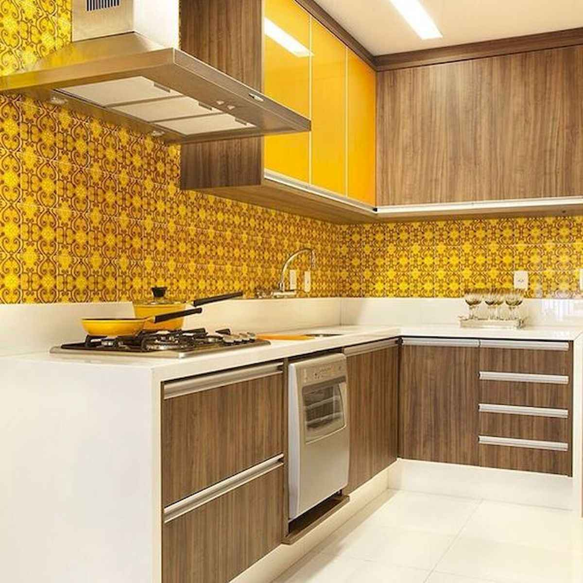 80+ Fantastic Colorful Kitchen Decor Ideas And Remodel for Summer Project (20)
