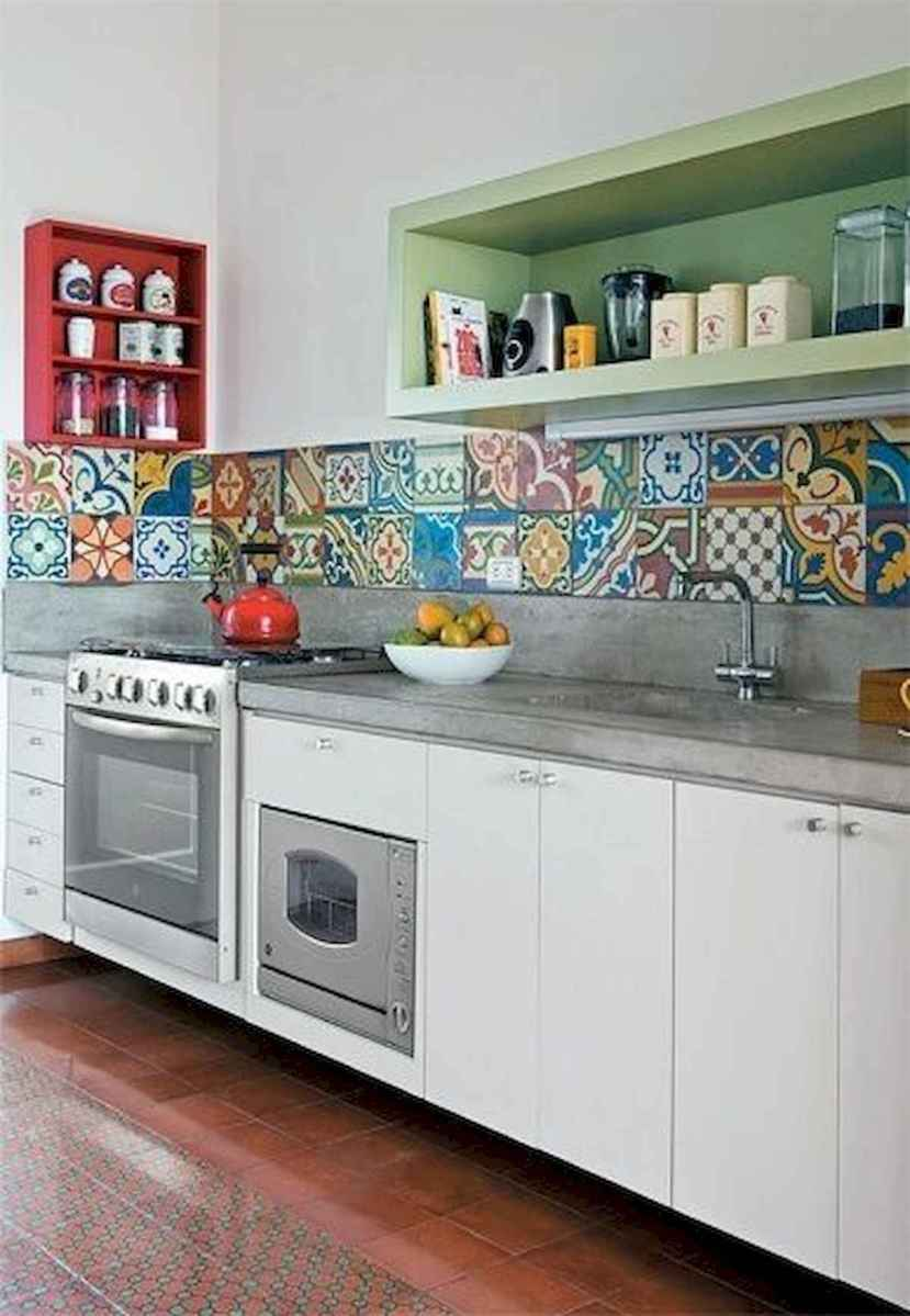 80+ Fantastic Colorful Kitchen Decor Ideas And Remodel for Summer Project (66)