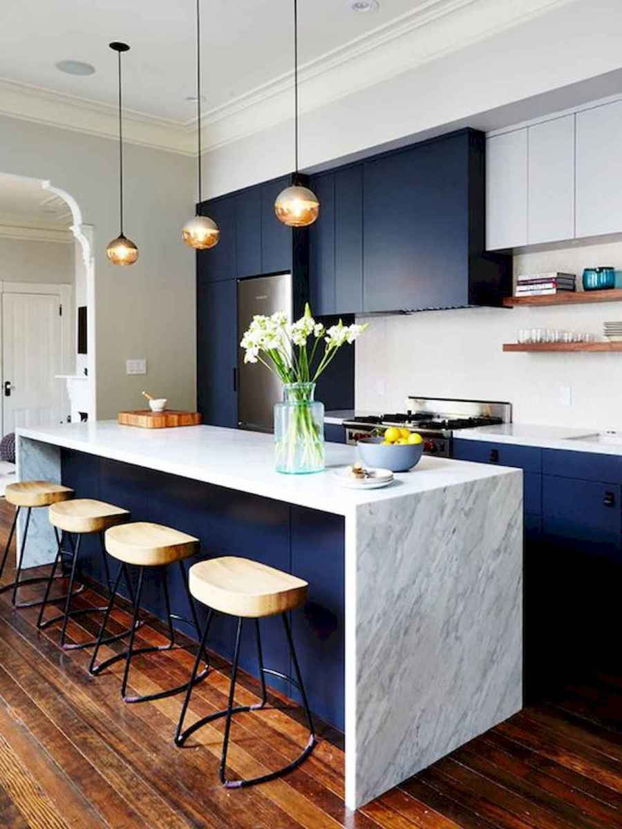 80+ Fantastic Colorful Kitchen Decor Ideas And Remodel for Summer Project (74)