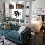 80+ Gorgeous Studio Apartment Divider Decor Ideas And Remodel (30)