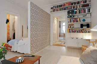 80+ Gorgeous Studio Apartment Divider Decor Ideas And Remodel (79)
