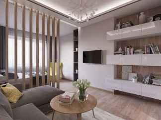 80+ Gorgeous Studio Apartment Divider Decor Ideas And Remodel (80)