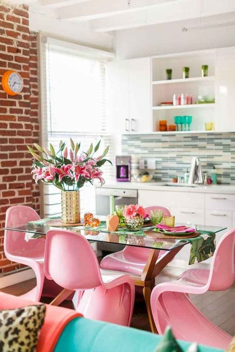 90+ Fantastic Colorful Apartment Decor Ideas And Remodel for Summer Project (74)