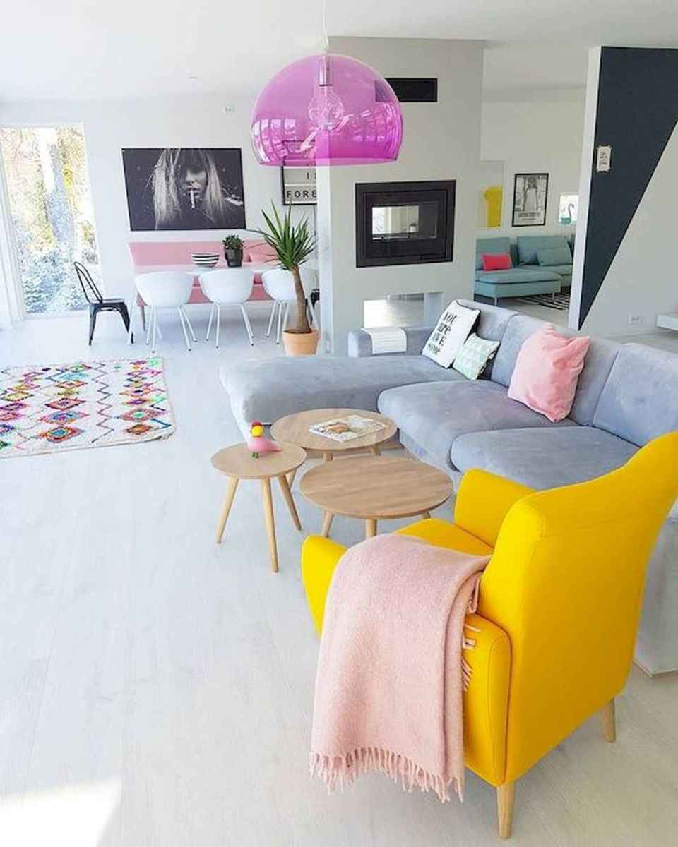 90+ Fantastic Colorful Apartment Decor Ideas And Remodel for Summer Project (87)
