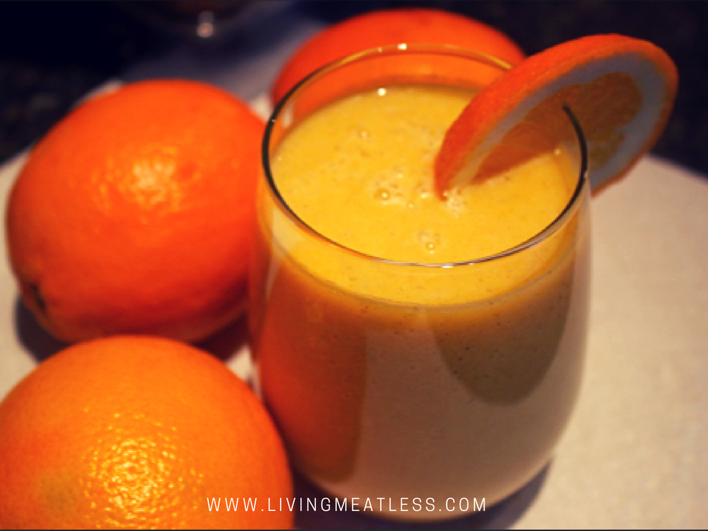 Tropical Creamsicle Smoothie