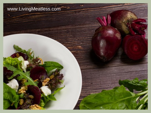 Sweet Onion & Beet Salad