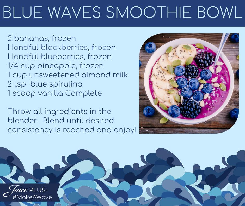 Blue Waves Smoothie Bowl