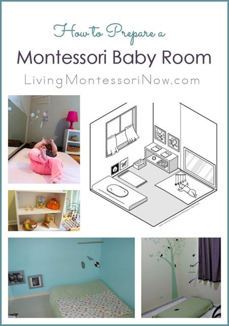 to prepare a montessori baby room