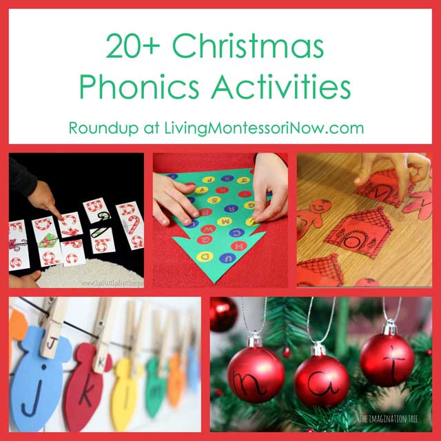 20 Christmas Phonics Activities Square