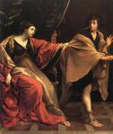 'Joseph and Potifar' by Guido Reni