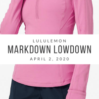 lululemon Markdown Lowdown (4/2/20)