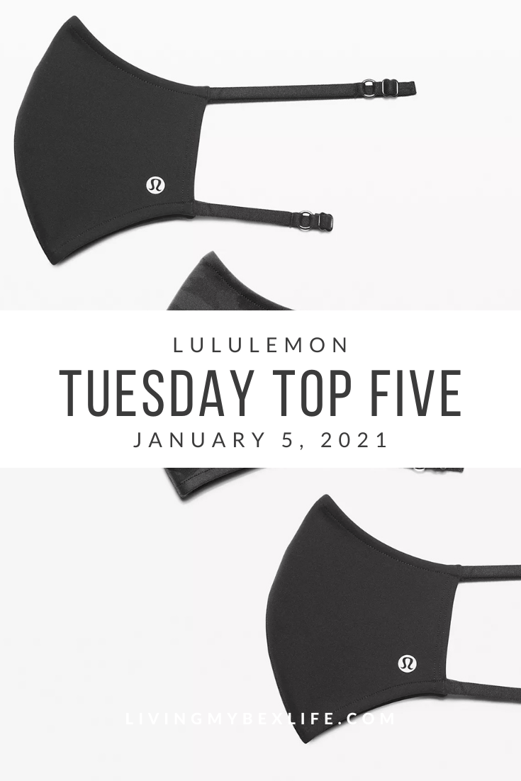 lululemon Tuesday Top 5 (1/5/20)
