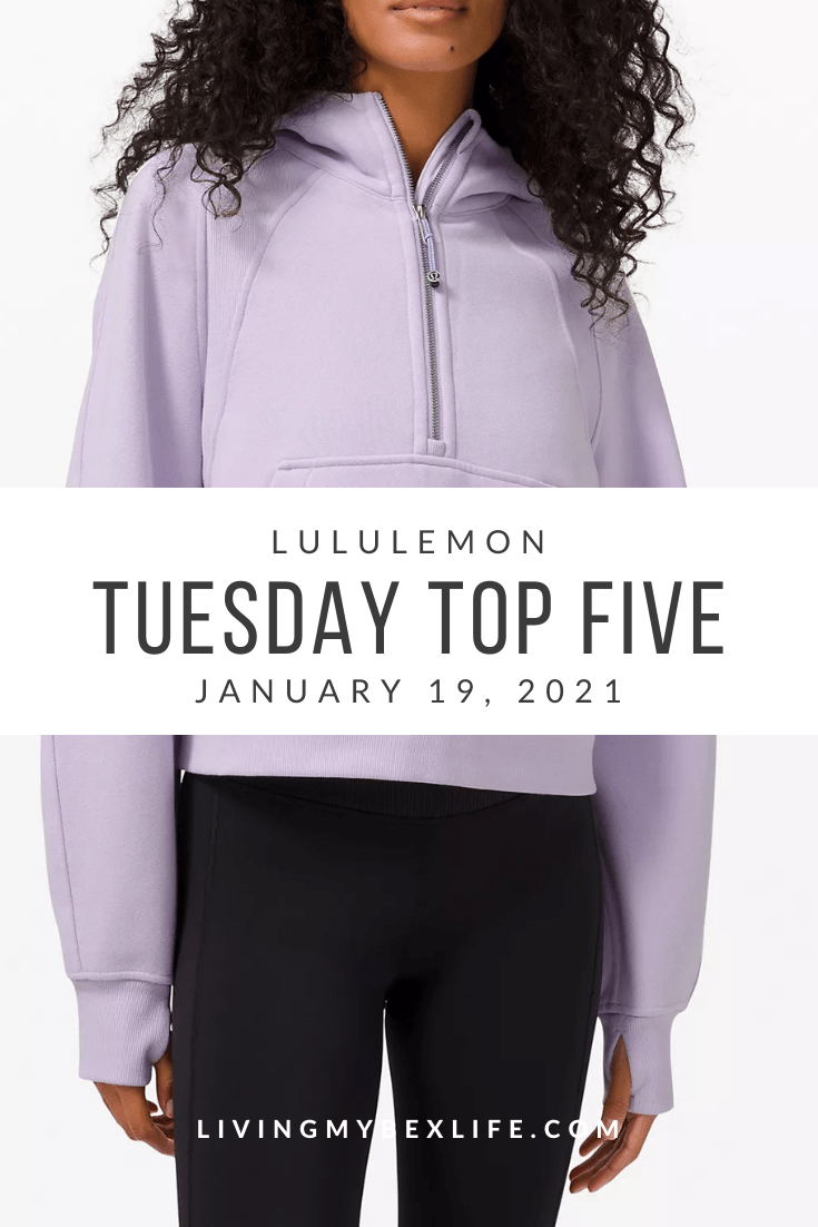 lululemon Tuesday Top 5 (1/19/20)