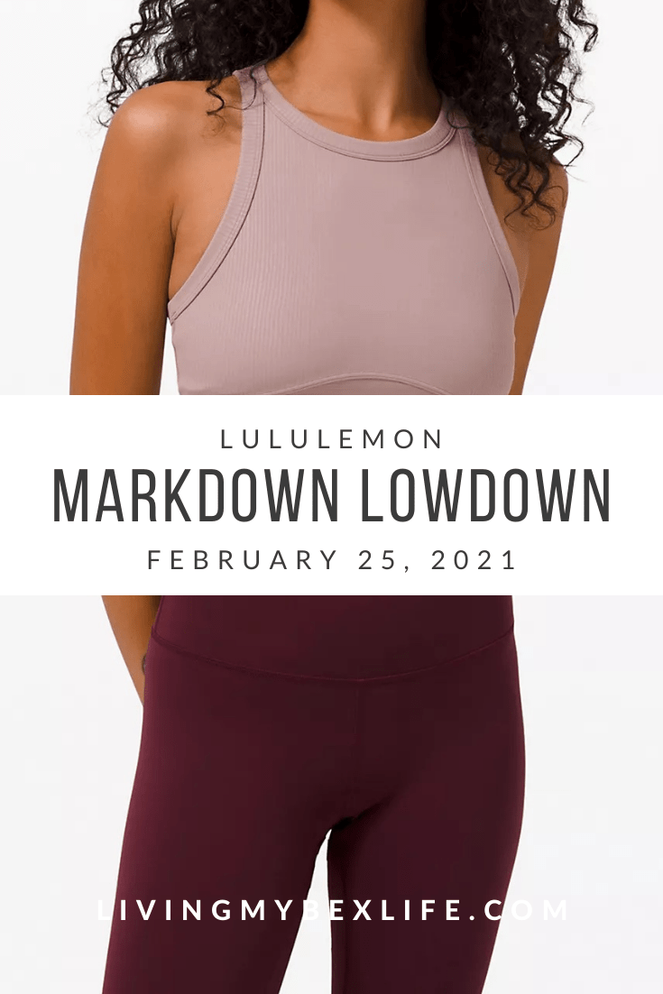 lululemon Markdown Lowdown (2/25/21)