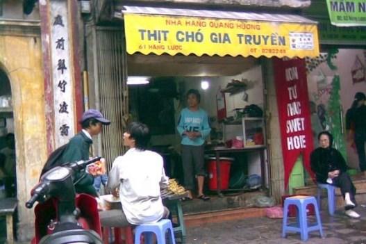 Image result for quán thịt chó ở hàn quốc