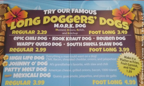 Long Doggers Hot Dogs