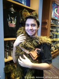 Ethan and Chewbacca