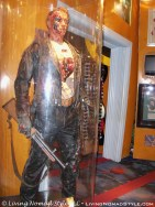 The Terminator inside Planet Hollywood.