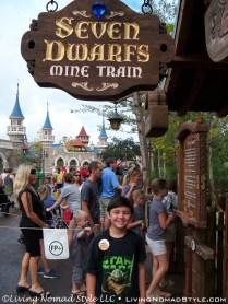 Seven Dwarfs Mine Ride