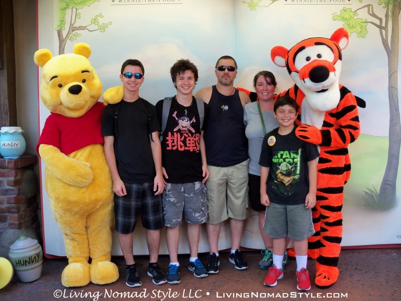The Nomads With Pooh and Tigger