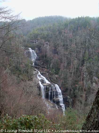 Top View - Whitewater Falls