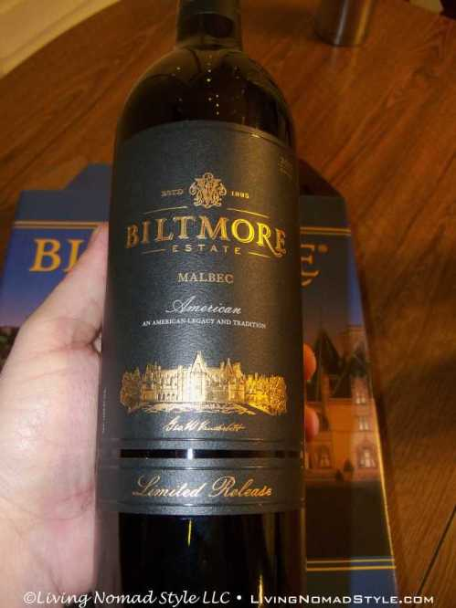 Biltmore Estate Malbec Limited Release