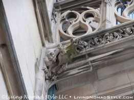 Gargoyle On Column