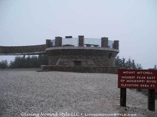 Mt Mitchell Lookout At Pinnacle 1
