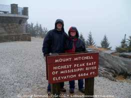 Mt Mitchell Lookout At Pinnacle 3