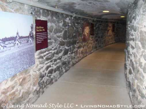 Stone Tunnel To Winery