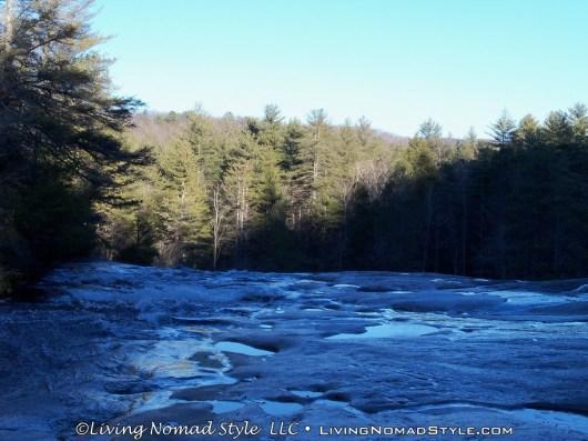 View From Upper Falls - Bridal Veil Falls