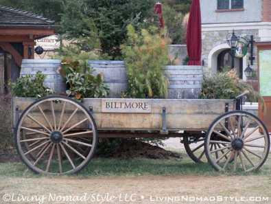 Wagon At Antler Hill Village