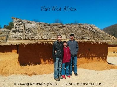 1700 west africa