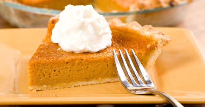 Kwanzaa Sweet Potato Pie Slice
