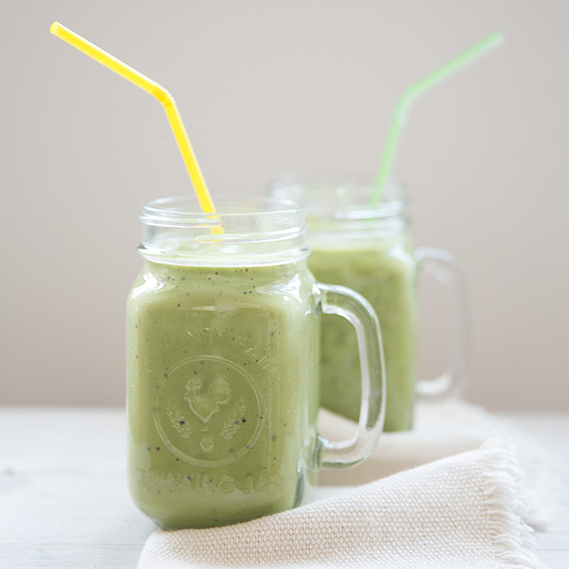 Happy Green Smoothie, Photo Credit: Modern Parents Messy Kids
