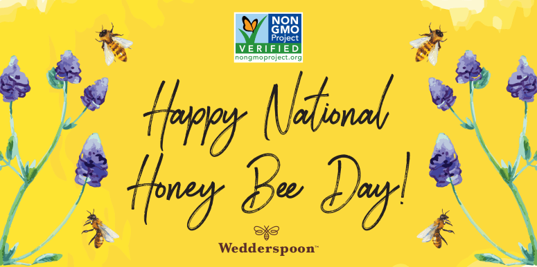 Saturday is National Honey Bee Day!