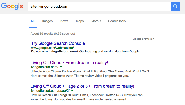 Expired domain website got indexed by Google