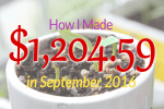 September 2016 income report featured image
