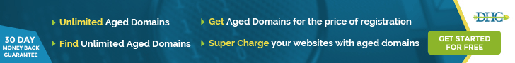 How to find expired domains: Domain Hunter Gatherer Pro logo