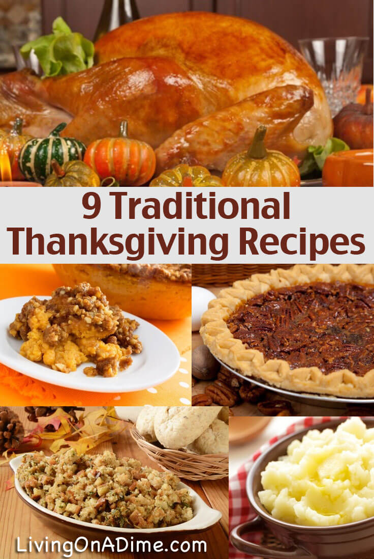 8 Traditional Thanksgiving Recipes Living On A Dime