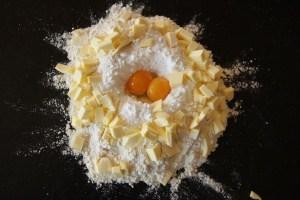 Linzer Heart ingredients