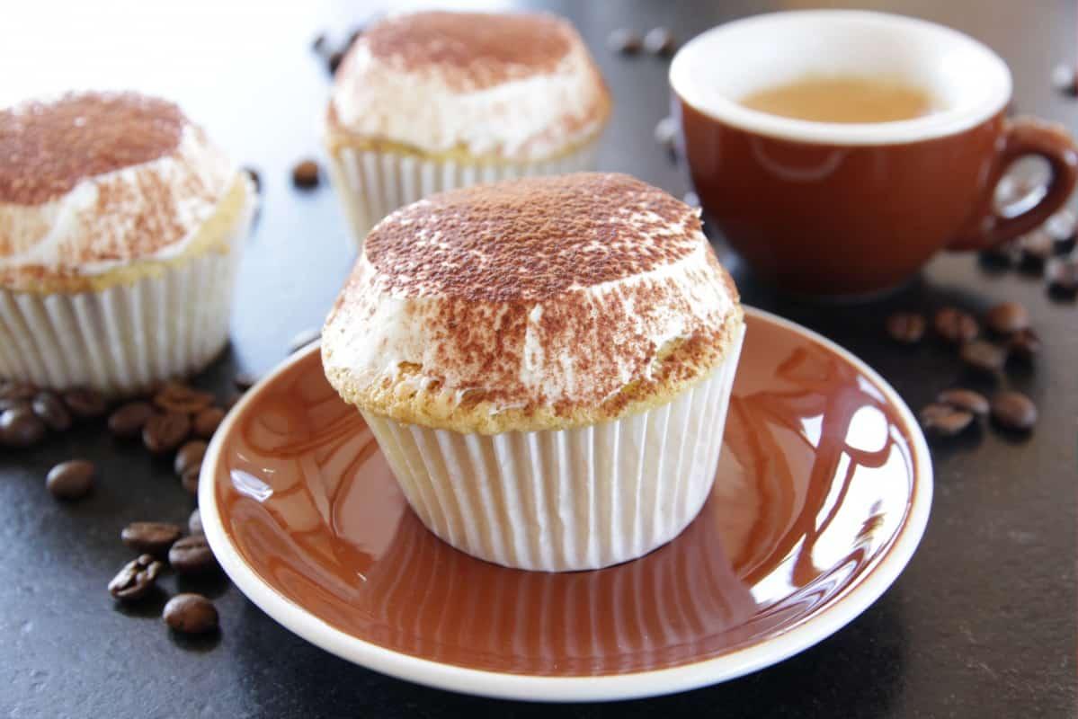 Tiramisu Cupcake with Mascarpone Frosting